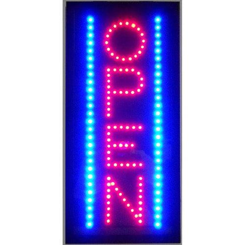 Neonetics Open Vertical Led Sign