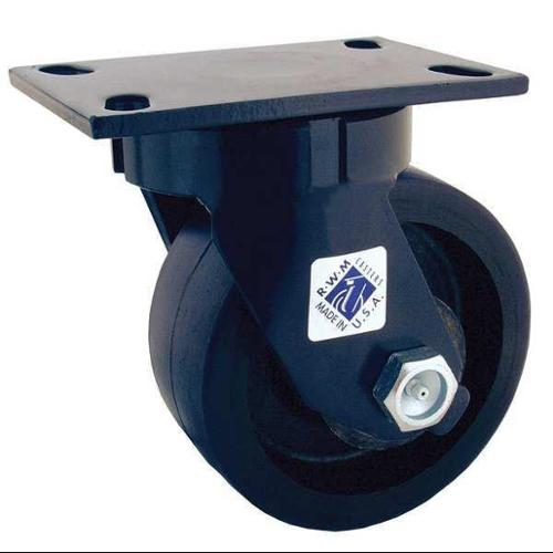 RWM 75-DUR-0625-S Kingpinless Caster, 6 in dia., 2-1/2 in. W