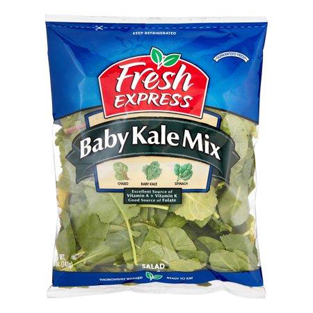 fresh express baby kale salad mix 5 oz. Black Bedroom Furniture Sets. Home Design Ideas