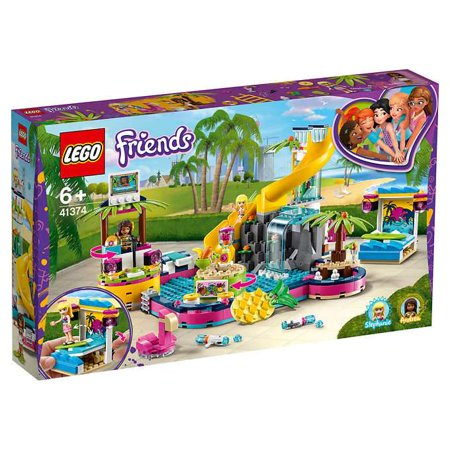 LEGO Friends Andrea's Pool Party (Lego Friends Pool Party Game To Play)
