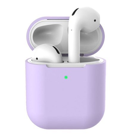 2nd Generation Cover (Portable Earpiece Cover Dust Proof Silicone Protective Case for Airpods 2nd Generation Earphone)