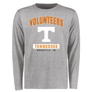 Tennessee Volunteers Big & Tall Campus Icon Long Sleeve T-Shirt - Ash