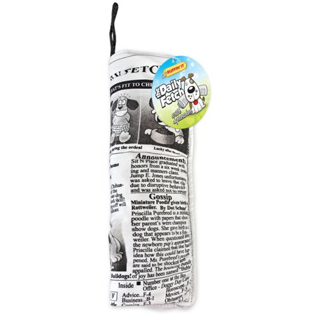 Crinkle Buckle - Crinkle Stuffed Daily Fetch Doggy Newspaper Dog Toy
