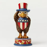 Jim Shore Proud To Be American Patriotic Bald Eagle Pint Sized Figurine 4051414