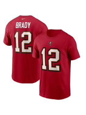 Tom Brady Tampa Bay Buccaneers Nike Name & Number T-Shirt - Red