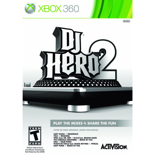 DJ Hero 2  (Xbox 360) - Pre-Owned