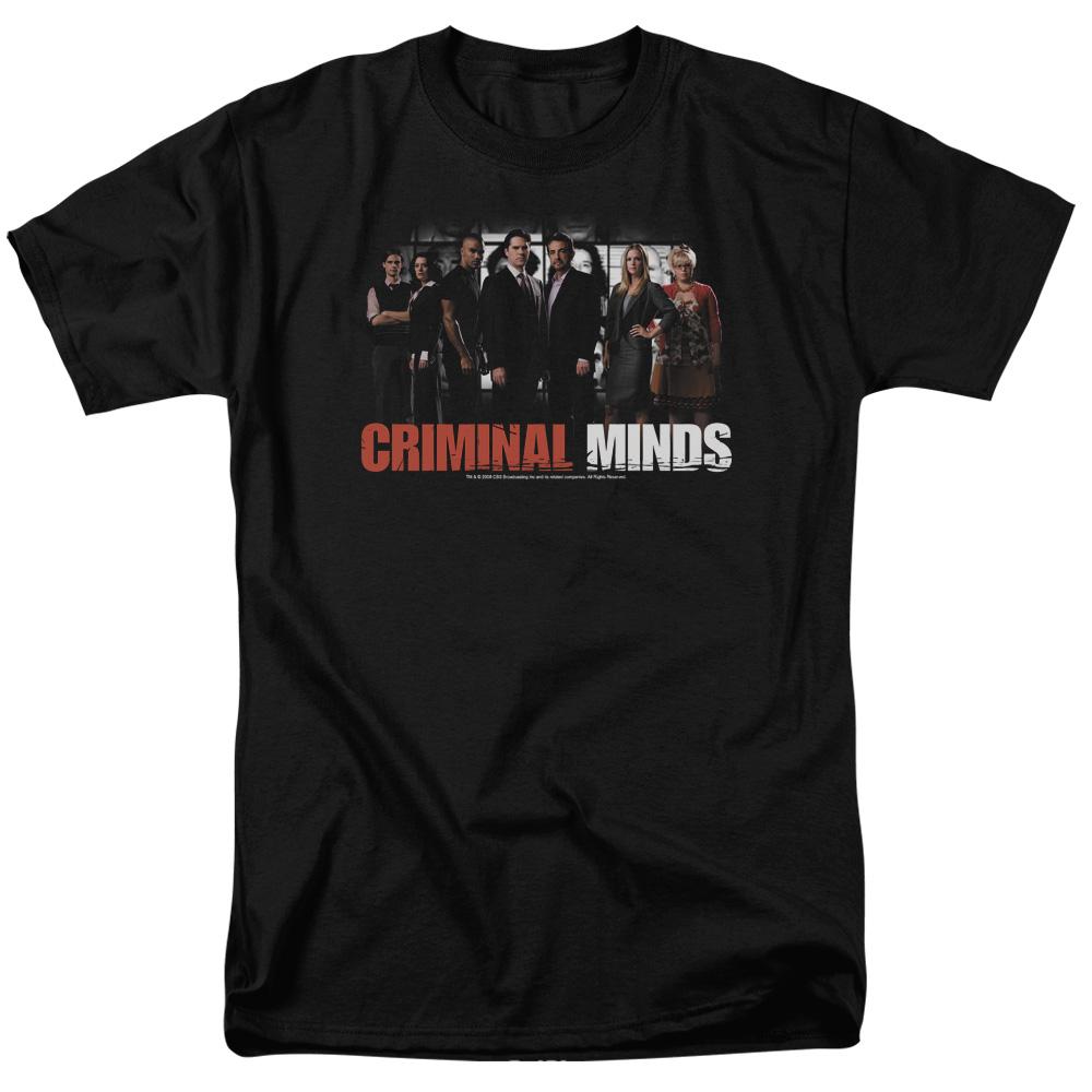 Criminal Minds/The Brain Trust S/S Adult 18/1   Black     Cbs255