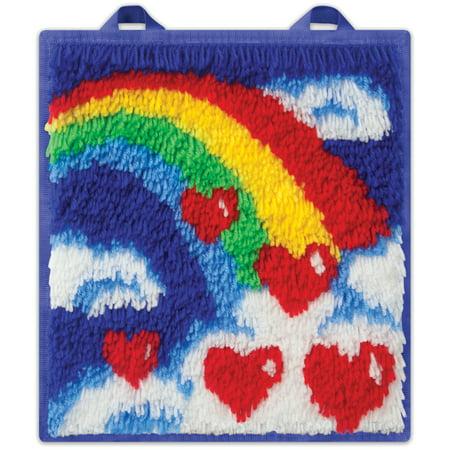Kahootz Toys LatchKits Mini Rug, Rainbow