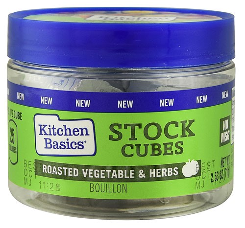 Kitchen Basics Stock Cubes, Roasted Vegetable & Herbs, 2.53 Oz