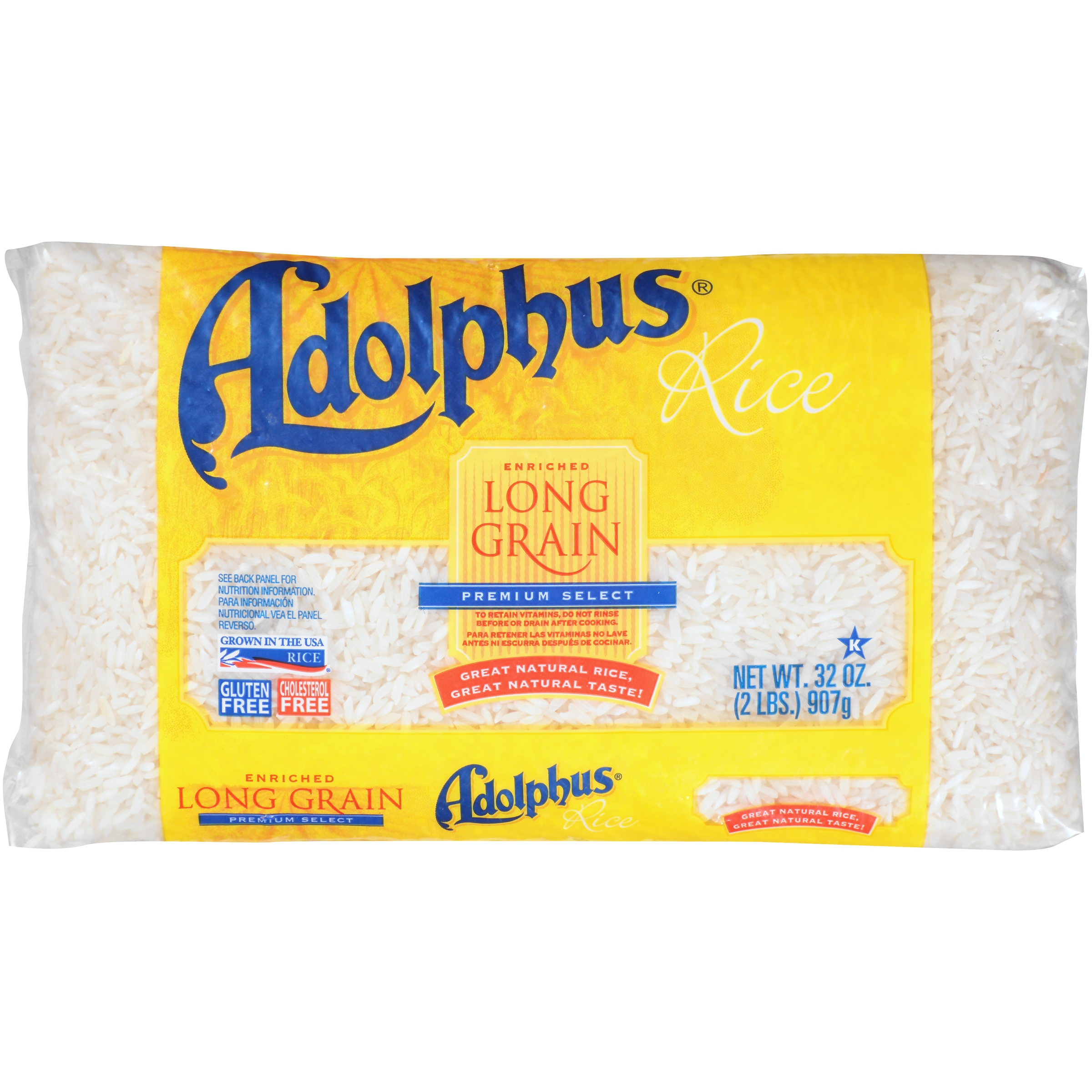 Image of Adolphus Long Grain Enriched Premium Sele ct Rice, 32 oz