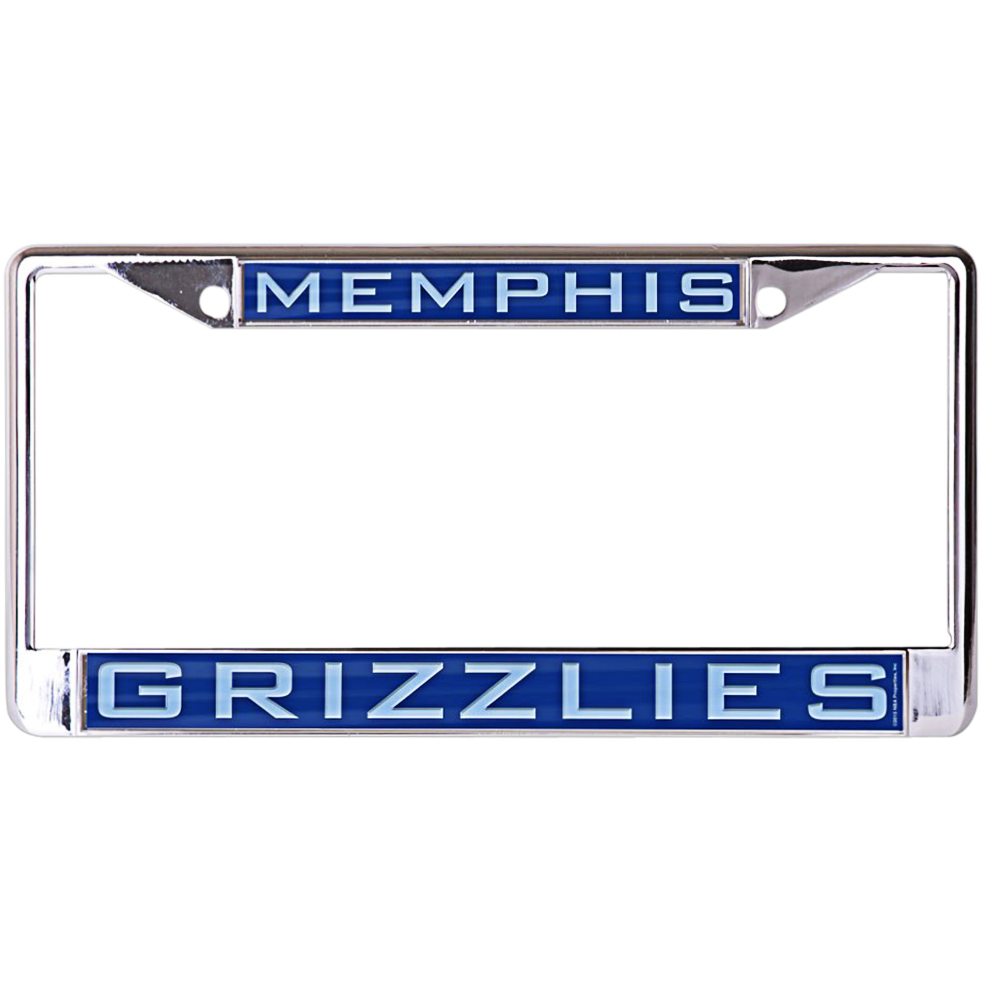 Memphis Grizzlies WinCraft Laser Inlaid Metal License Plate Frame - No Size