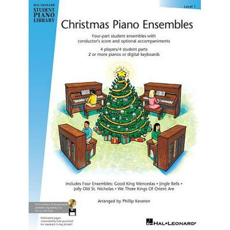 Christmas Piano Ensembles - Level 1 Book : Hal Leonard Student Piano Library ()