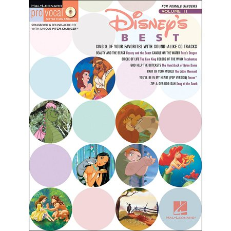 Hal Leonard Disney's Best - Pro Vocal Songbook for Female Singers Volume 11