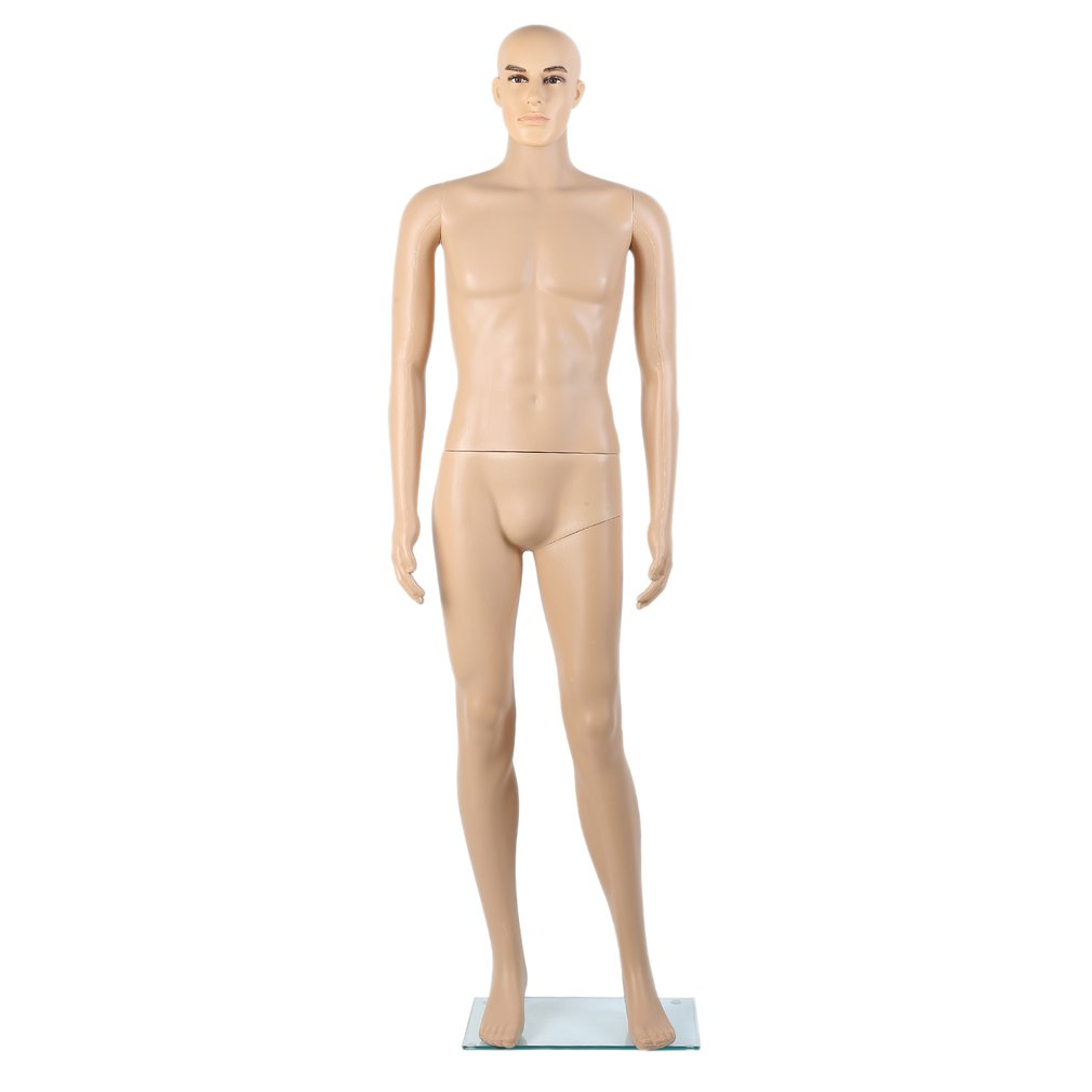 Unbreakable Realistic Plastic Male Full Body Mannequin Ma...