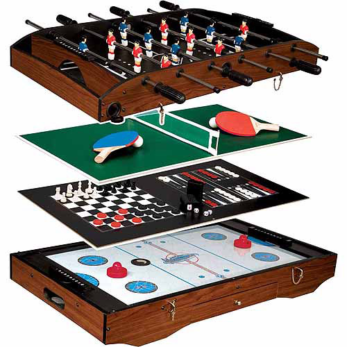 Superb Franklin Sports Deluxe 6 In 1 Game Table