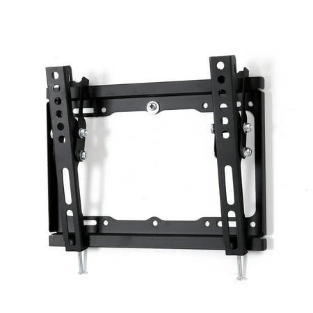 fleximounts tilt tilting tv wall mount bracket fits most 17 42 4k hd lcd led plasma flat. Black Bedroom Furniture Sets. Home Design Ideas