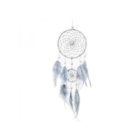 Topumt Dream Catcher With Feather Home Wall Car Hanging Ornament Decor Wind Chime Birthday Graduation Gift