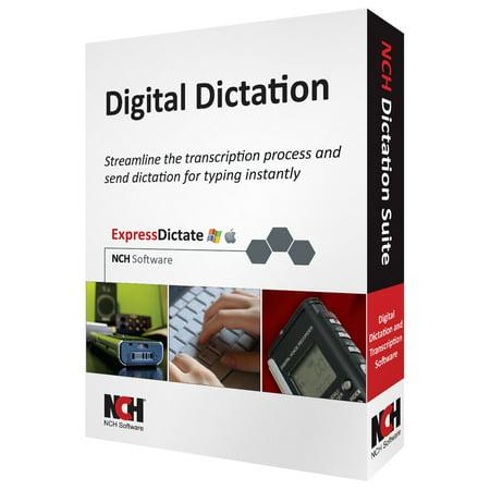 Nch Software Dictation Suite   Voice Recognition Retail   Pc  Mac