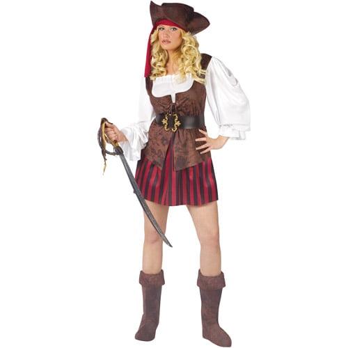 Fun World High Seas Buccaneer Pirate Adult Halloween Costume