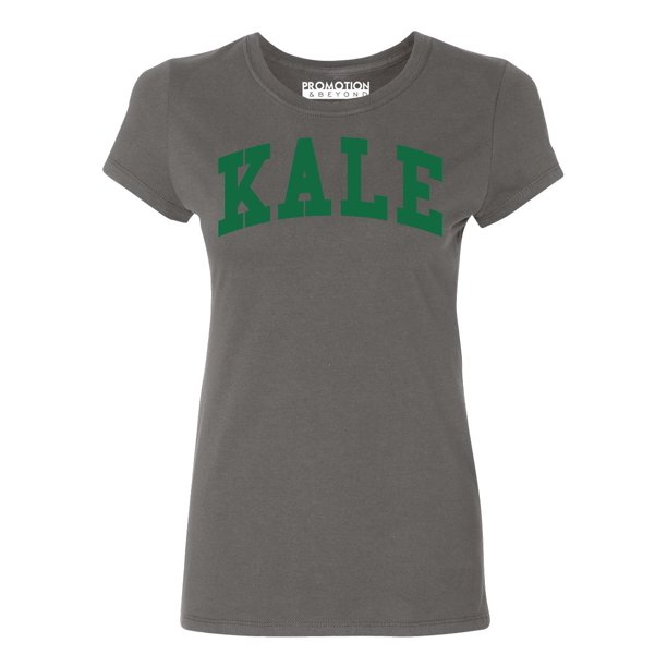 P&B Kale G. Women's T-shirt, L, Charcoal