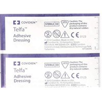 Adhesive Dressing Telfa 2 X 3 Inch 100% Cotton Rectangle Clear Sterile - (Pack of 4)