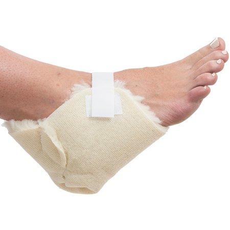 Sheepette Heel Protector - Pair Relieves Pressure & Friction In Tender Feet