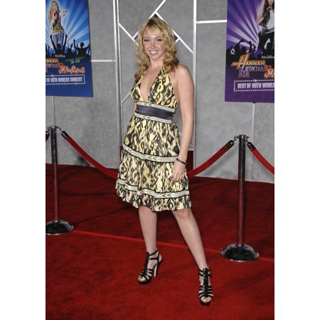 Jennifer Tisdale At Arrivals For Hannah Montana & Miley Cyrus Best Of Both Worlds Concert 3D El Capitan Theatre Los Angeles Ca January 17 2008 Photo By Michael GermanaEverett Collection (Best Celebrity Upskirt Photos)