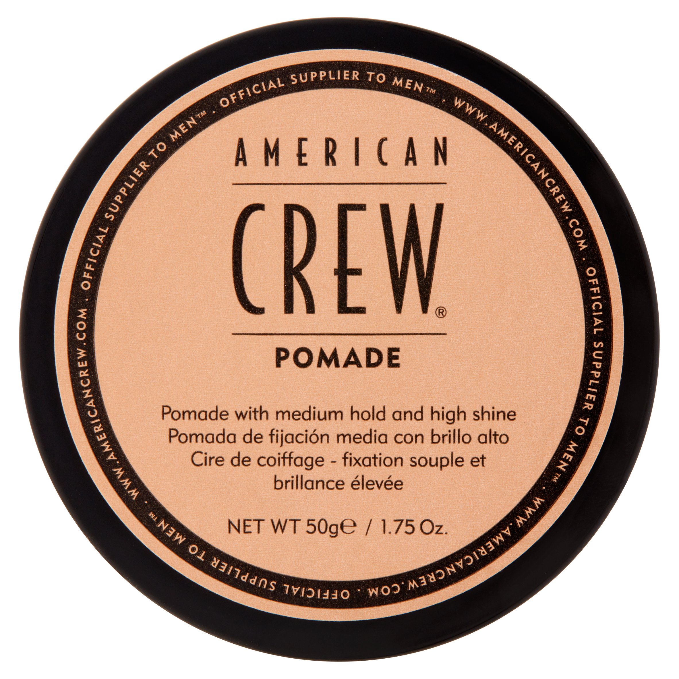 American Crew Medium Hold Pomade, 1.75 oz