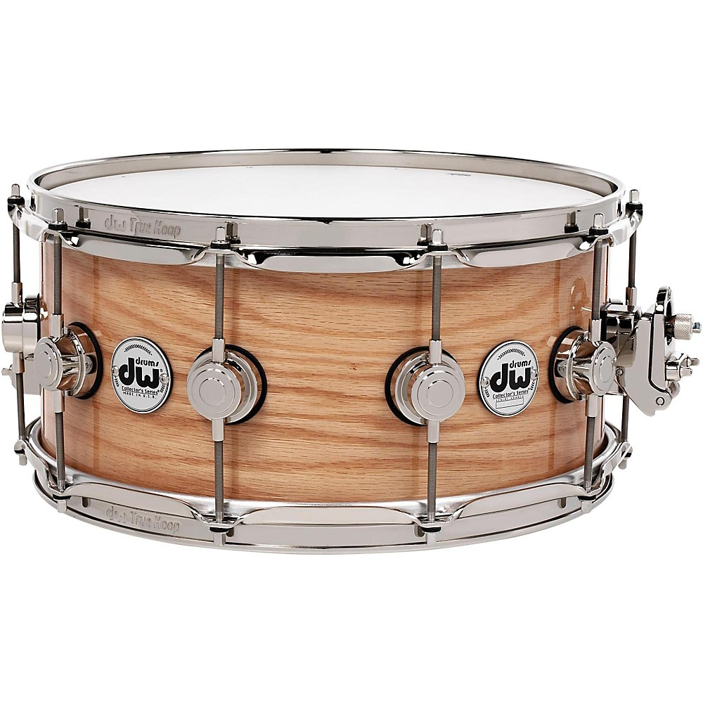 DW Collector's Series Lacquer Custom Oak Snare Drum 14x6.5 In. Natural Hard Satin by DW