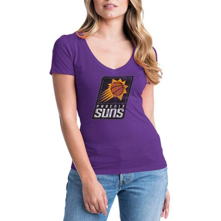 Phoenix Suns Halloween 2017 (NBA Phoenix Suns Women's Short Sleeve V Neck Graphic)