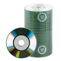 100 Spin-X 24x MINI CD-R Blank Media 22Min 193MB Shiny Silver