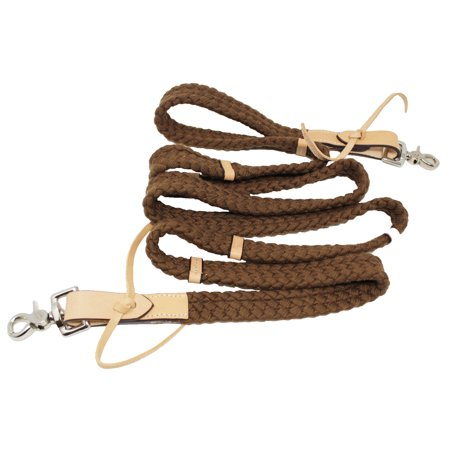- Horse Handmade Roping Tack Western Barrel harness Cotton Reins 607317