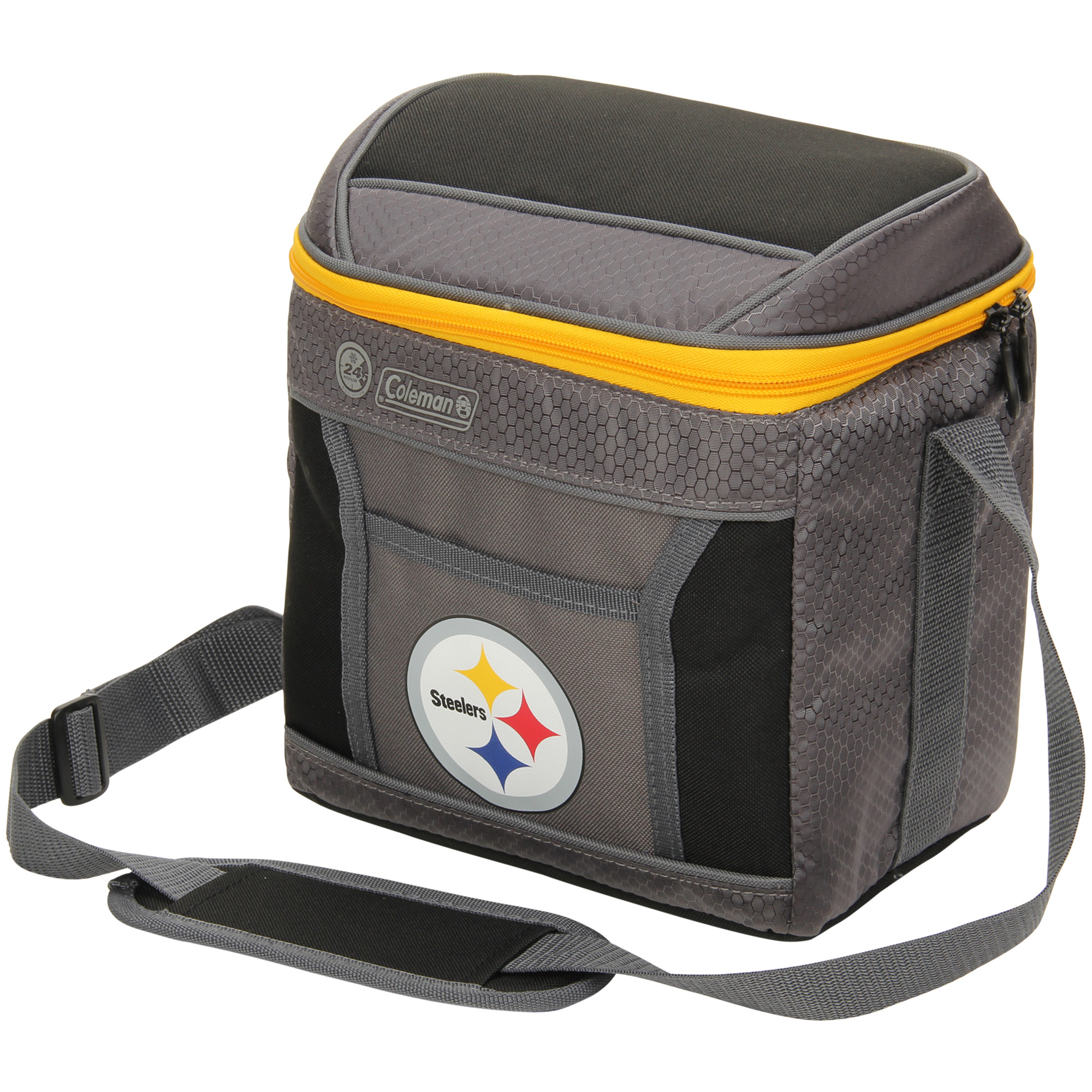 Pittsburgh Steelers Coleman 9-Can 24-Hour Soft-Sided Cooler - No Size