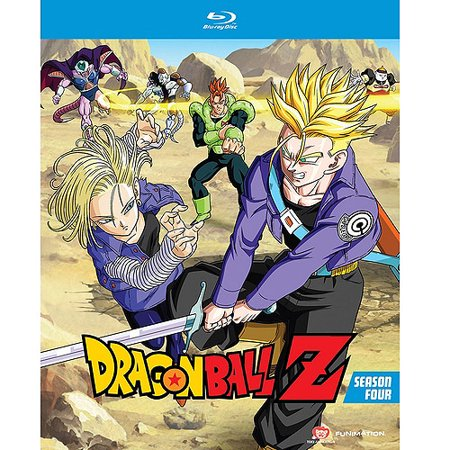 Dragon Ball Z  Season Four  Uncut   Blu Ray   Japanese