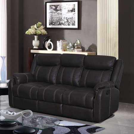 Global Furniture USA Gin Rummy Seal Reclining Sofa