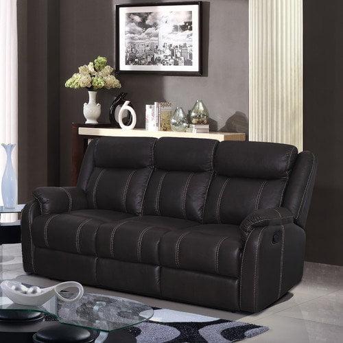 Global Furniture USA Gin Rummy Seal Reclining Sofa