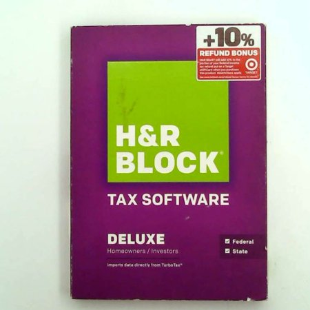 H&R Block Tax Software Deluxe + State 2014 (Old Version) ()