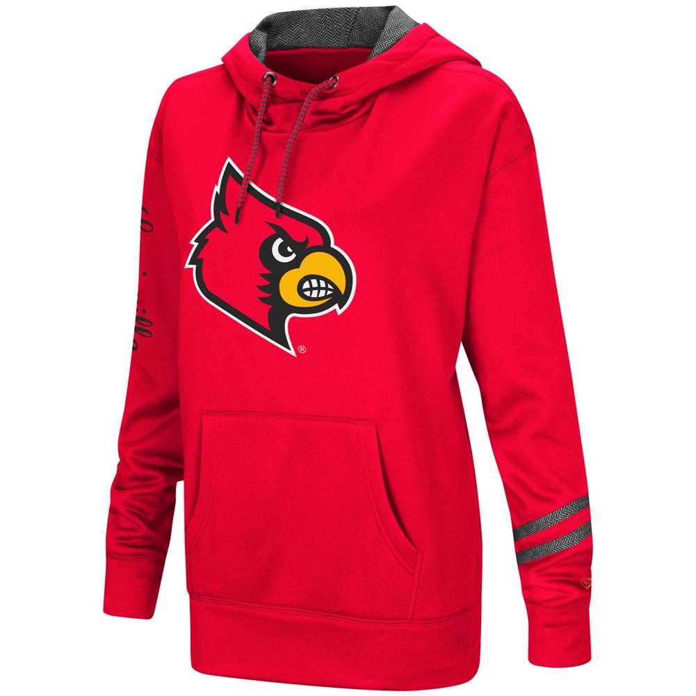 Women's Performance Pullover Louisville Cardinals Hoodie