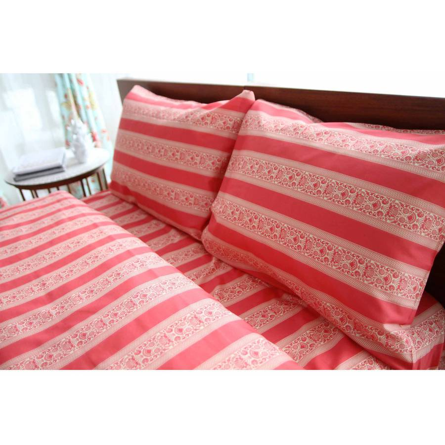 Amy Butler Sari Bloom Striped Sheet Set