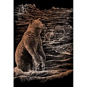 Royal & Langnickel Grizz Bears Art Engraving