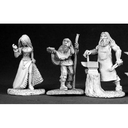Reaper Miniatures Townsfolk II #02584 Dark Heaven Legends RPG D&D Mini Figure