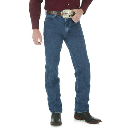 Wrangler Men's Western Cowboy Cut Slim Fit Jean - Stonewashed
