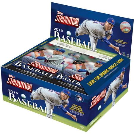 2019 Topps Stadium Club Baseball Factory Sealed 24 Pack Retail