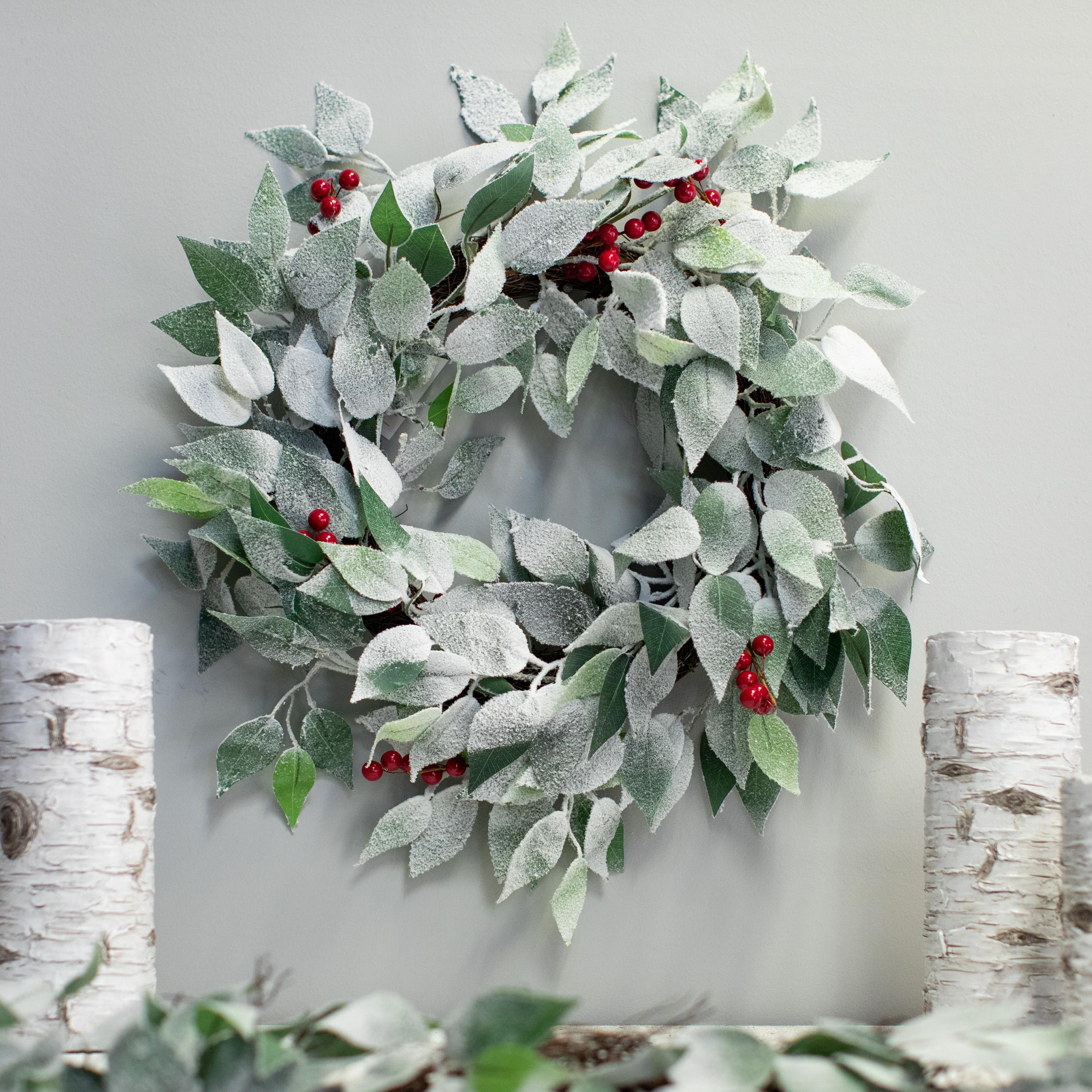 Belham Living 24inch Sierra Berry Wreath