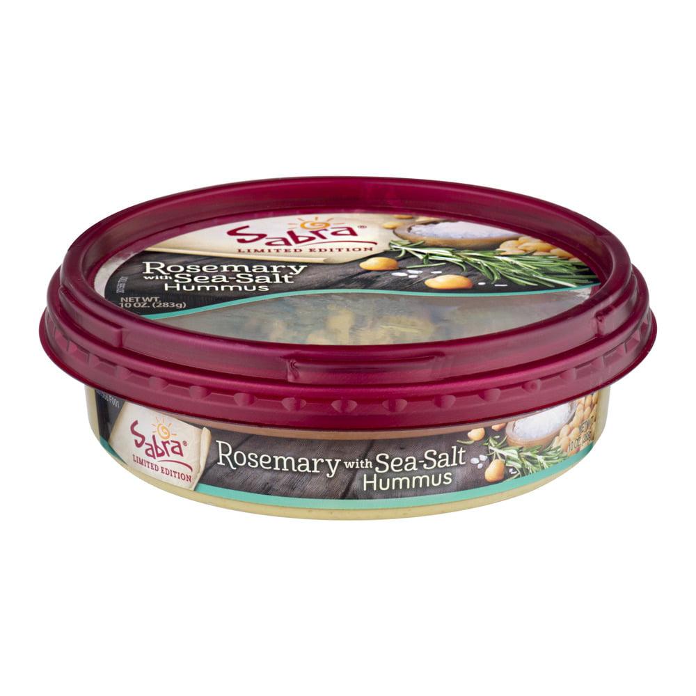 Sabra Hummus Rosemary with Sea Salt, 10 oz