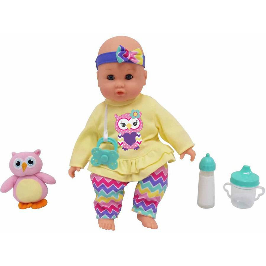 "MSL 14"" Baby Maggie Doll, Owl (Item May Vary)"