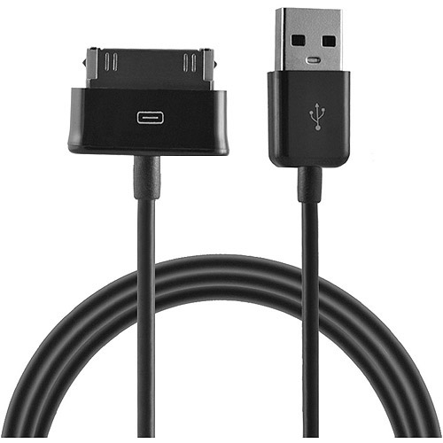 Ematic 30-Pin Charge and Sync Cable for Samsung Galaxy Tablet, 3'