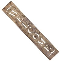 Welcome Tall Wall Stencil 3791 by Designer Stencils