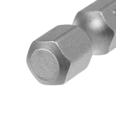 "10Pcs 1/4"" Hex Shank 50mm Length Magnetic Torx Security T27 Screwdriver Bits S2 - image 1 of 4"