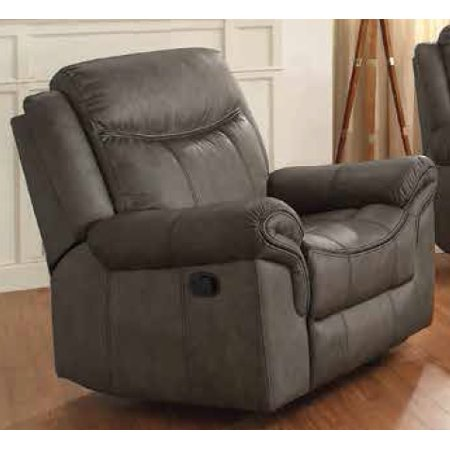 Amazing Coaster Leather Loveseat Two Tone With Grey Finish 602335 Short Links Chair Design For Home Short Linksinfo